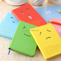 Cute Notebook Smiling Face Agenda Week