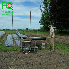 Factory supply agricultural plastic pe black mulch film price ,lightweight biodegradable agriculture pe ground cover