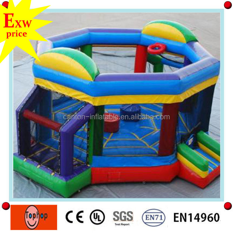 2016 Hot sale cheap inflatable wrestling ring, inflatable wrestling ring for kids, military rings for sale