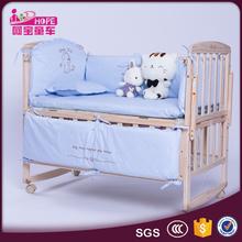 China Supplier Wholesale Unique Wooden Baby Crib Hammock