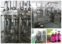 Aseptic Fruit Juice Filling / Making Machinery---PET Bottle Good Choice For Juice Processing Plant