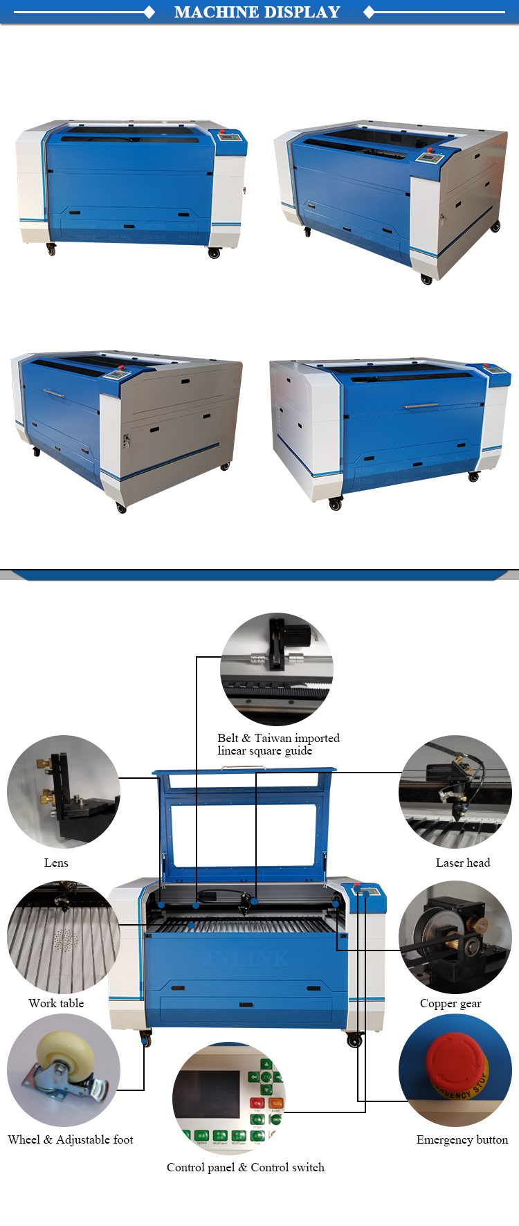 130w laser cutter sheet metal laser cutting cnc machine price in india
