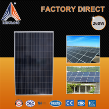 Automatic Assembly Line TUV Approved solar panel 260 watt