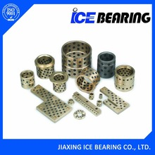 ICE50 graphite filled brass mechanical mould parts casting bronze impregnated graphite bushing