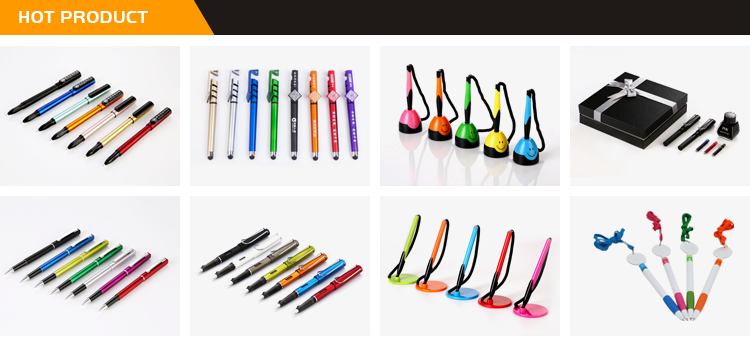 Wholesale China Factory Cheap Promotional Colorful Best Gel Pens With Custom Logo
