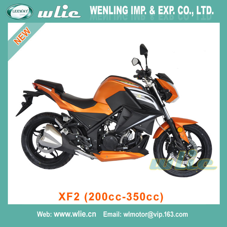 Factory price beautiful gas scooter kit bajaj pulsar motorcycle 300cc 250cc CHEAP street racing XF2 (200cc, 250cc, 350cc)