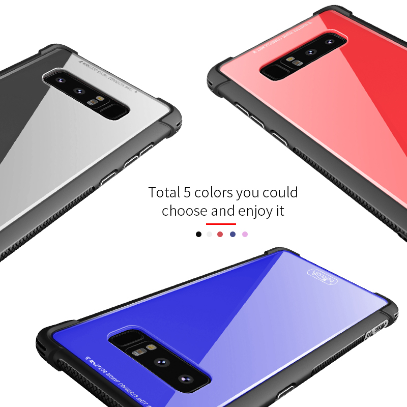 2018 new alibaba phone case manufactor protect camera phone case cover for Samsung galaxy note 8