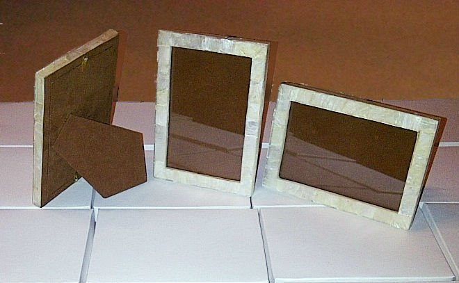 Capiz Shell Picture Frames