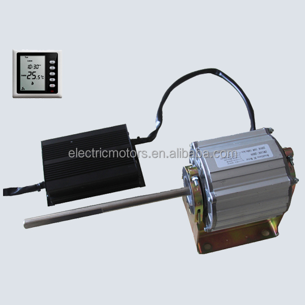 Double Shaft EC Fan Coil Motor