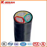 Low Voltage 3Core 185mm2 XLPE / PVC Insulated Aluminum Power Cable