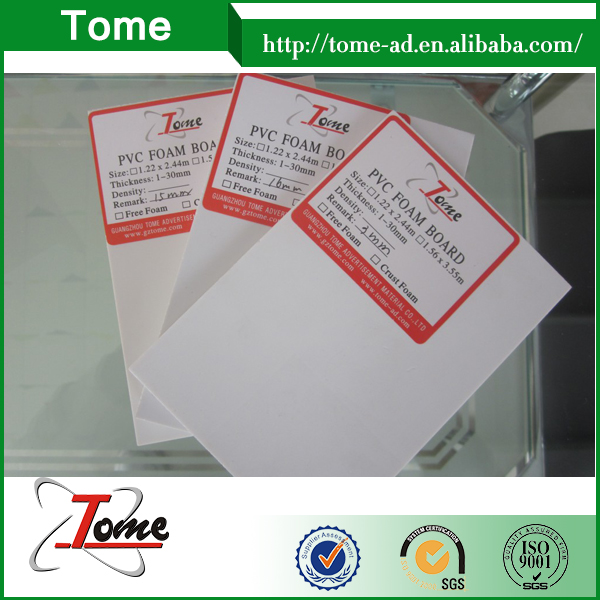 High Impact Strength Glossy Surface Pvc Foam Board Hard Pvc Foam Board