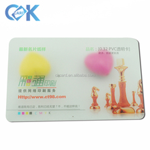 Customized printing plastic transparent PVC <strong>CardS</strong>