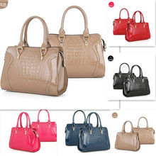 2014 new style fashion ladies purses and handbags,PU leather tote bags wholesale China