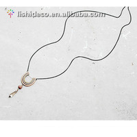 Europe Style Long Natural Stone Pendant