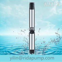 "30 hp well 6"" 150QJD 6SR irrigation centrifugal vortex oil filling dc solar systerm submersible water pump in india"