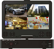 CCTV DVR Remote Viewing 10 inch Screen Full HD 1080P