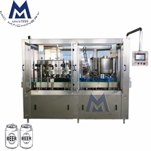 Greater Space Saving Isobaric Type 140CPM 24heads Aluminum Can Carbonated Beverage Drink Filling Machine