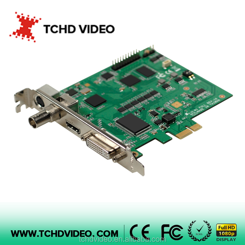 1channel(HDMI/SDI/DVI/CVBS) input 1080P60 PCIe live streaming, webcasting,game broadcasting capture card
