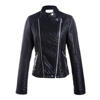 Latest fashion designs custom woman motorcycle jacket