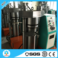 Hydraulic type cocoa bean oil press machin