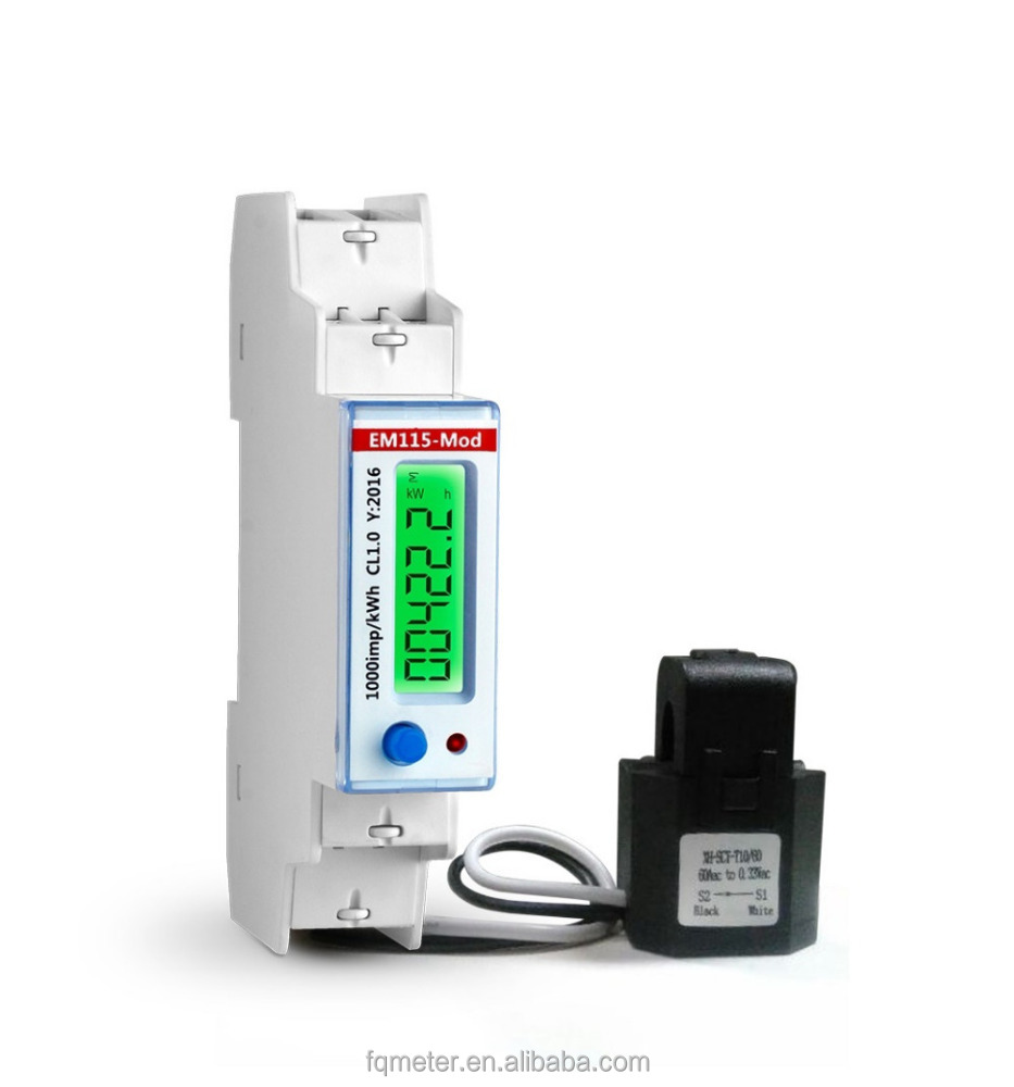 All kinds of mid single phase multi tariff meter