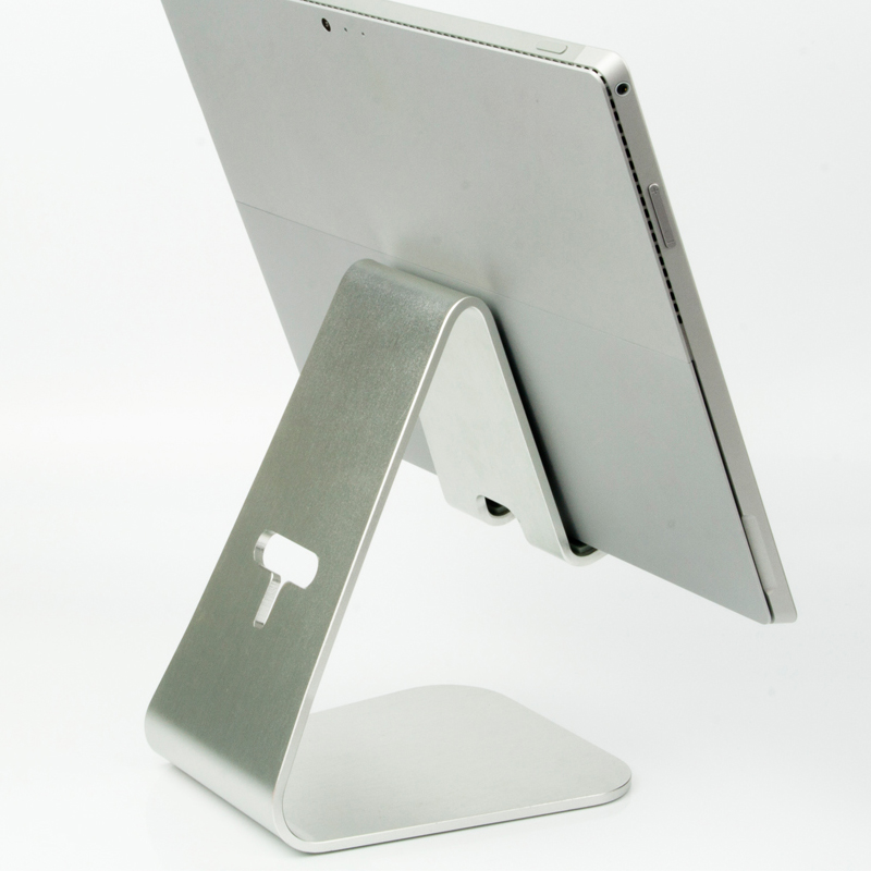 2017 Hot New Product Universal Aluminum Desktop Tablet Stand for 13 inch Tablet PC