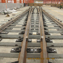 for railways and subways from manufacturer with CE Good quality Rail turnout