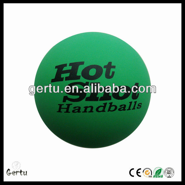2014 new arrival hollow rubber handball