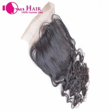 Wholesale Unprocessed 100% Human Virgin Hair Top Quality Swiss Lace Closure