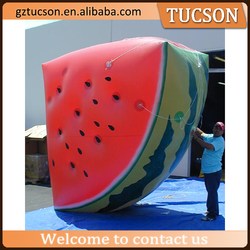 Vivid giant inflatable watermelon inflatable fruit for promotion for sale