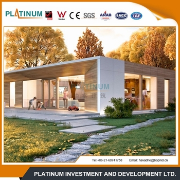 2016 Australian standard top quality modular steel house