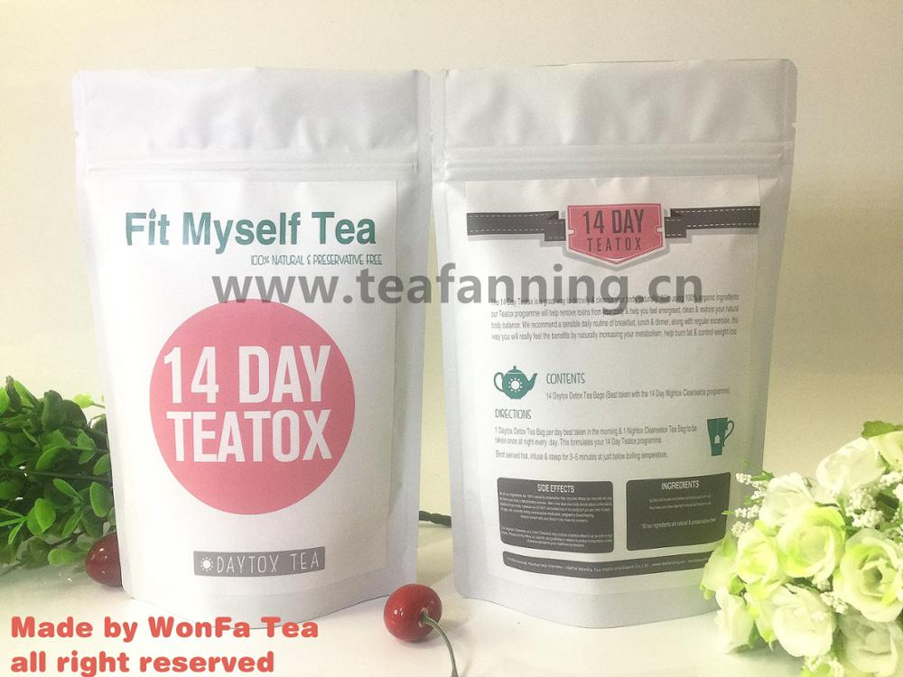 Slim Detox tea and diet with customized service for body detox and weight loss