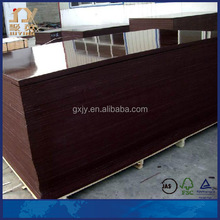 Brown plywood for UAE construction market
