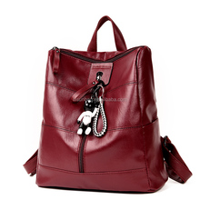 2018 <strong>Fashionable</strong> 5 USD Very Cheap Girls Cute Leather Backpacks