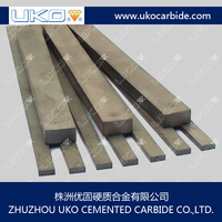 Sintered Tungsten carbide rectangular strips for wood cutting tools