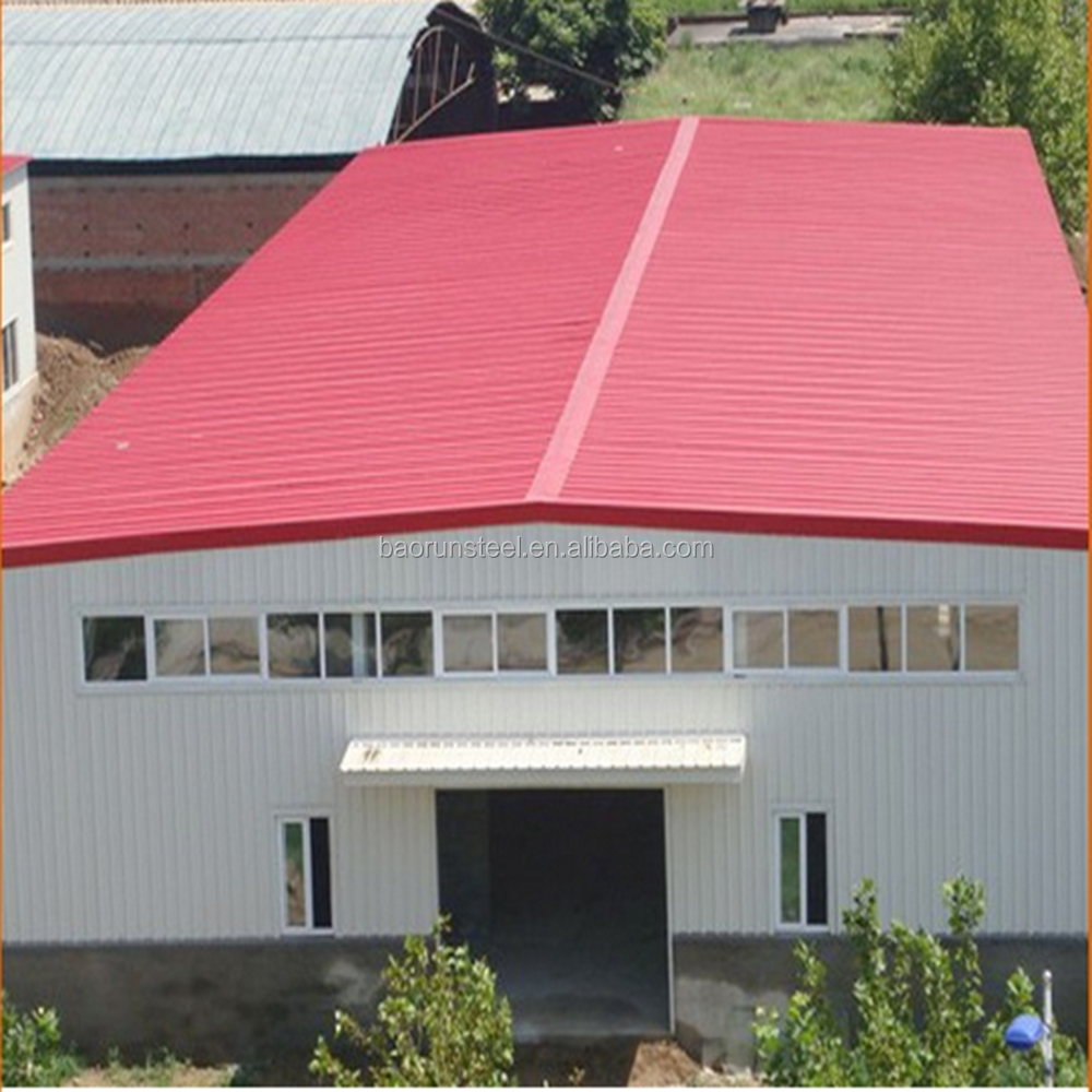 China qualified prefab house made by steel structure and sandwich panel for office warehouse factory dorm workshop