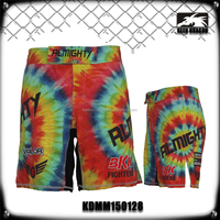 Colorful Printing Latest Design 90%Polyester 10% Spandex Jogging Short Pants