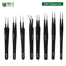 BEST-Custom stainless steel/ESD tweezers