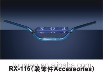 Hot sell and high quality motorcycle handlebar RX-115 with 1.5MM seemless steel