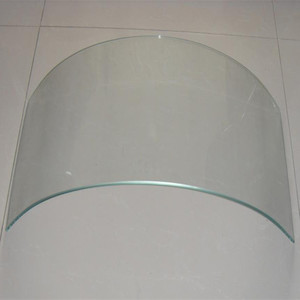 5mm 6mm curved tempered glass manufacturer in China