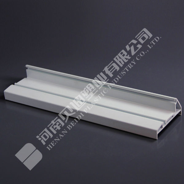 UPVC Accessory Profiles China UPVC Window Combination PVC Hollow Profile Adaptor Board