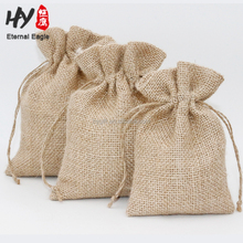 Wholesale household linen drawstring storage pouch