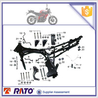 Original factory parts best price 200cc motorcycle accessories frame body comp for UM brand motorbike