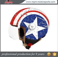 Removable Interior Open face Helmet With ECE /DOT/Snell Approved