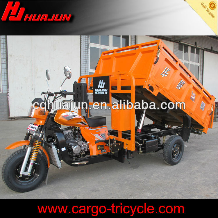hydraulic 3 wheels motorcycle for carry Coal