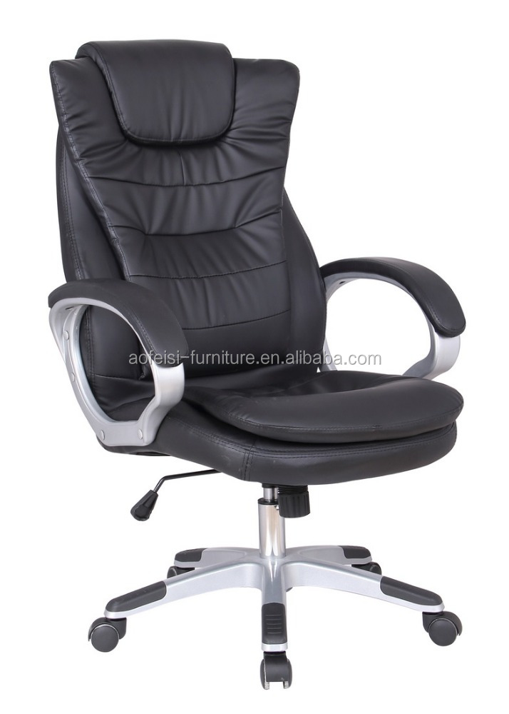 High Back Ergonomic Office <strong>Chair</strong>, Executive Leather Office <strong>Chair</strong> With Headrest Office Furniture