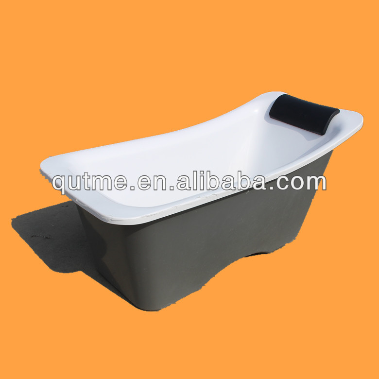 2014 Italian Design Freestanding Bathtub& 1700 Bathtub& Double Color Royal Simple Bathtub