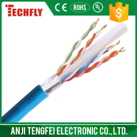 solid pure copper UL certificate cat6 FTP cable hot selling