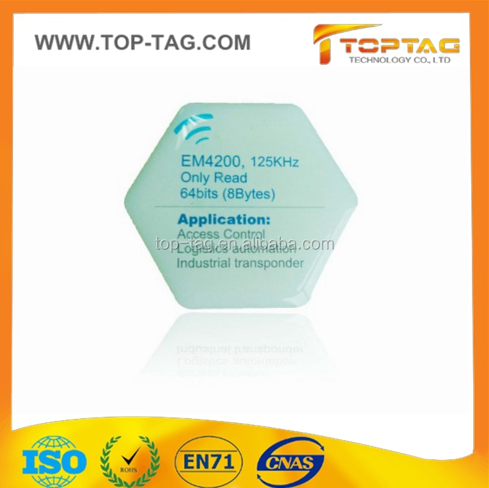 Waterproof programmable NTAG203 PVC Jelly RFID Epoxy NFC Tag