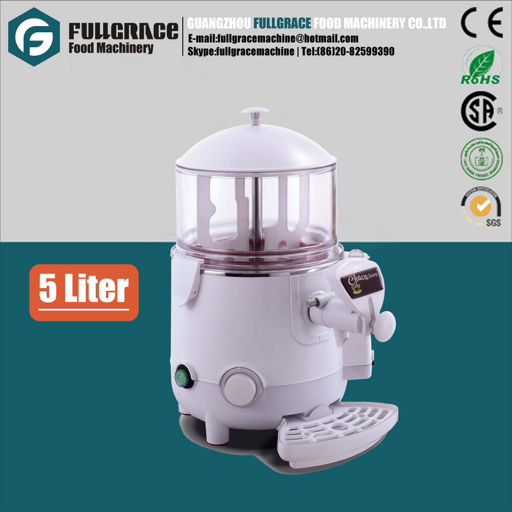 popular for fast food restaurant 5liters electric hot coffee chocolate dispenser